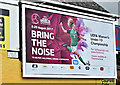 J3272 : UEFA women's football poster, Belfast (July 2017) by Albert Bridge