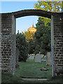 TL4355 : In Grantchester churchyard by John Sutton