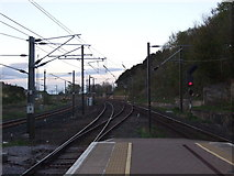 NT9953 : Railway towards Edinburgh by JThomas