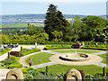 J3279 : Formal Garden at Belfast Castle by David Dixon