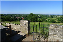 ST7581 : Viewpoint from the Church of St John the Baptist, Old Sodbury by Tim Heaton