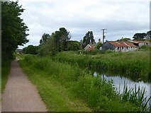 ST2625 : Bridgwater and Taunton Canal east of Hyde Farm by David Smith
