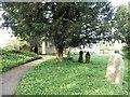 SD5678 : Path in the churchyard by Jon Alexander
