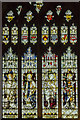 SP2864 : Stained glass window, St Mary's church, Warwick by Julian P Guffogg