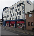 SU4519 : Travelodge and a charity shop, Eastleigh by Jaggery