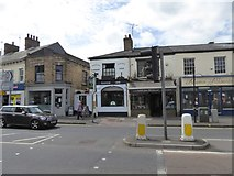 ST2225 : The Plough Inn, Station Road by David Smith