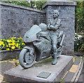 C9425 : Joey Dunlop statue, Ballymoney by Rossographer