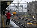 NY4055 : Barrow train leaving Carlisle by Stephen Craven
