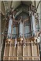 SP2864 : Organ, St Mary's church, Warwick by Julian P Guffogg