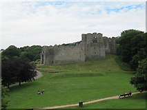 SS6188 : Oystermouth Castle by David Tyers