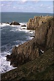 SW3425 : Dr Syntax's Head, Land's End by Philip Halling
