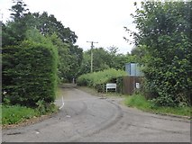 SX9690 : Access track to Blue Ball waste water pumping station by David Smith