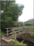 SX9791 : Footbridge north of Clyst St Mary by David Smith