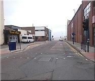 NZ6025 : Moore Street - High Street by Betty Longbottom