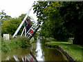 SJ5847 : Wrenbury Frith Lift Bridge in Cheshire by Roger  Kidd