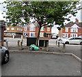 ST2179 : Western end of The Walk, Rumney, Cardiff by Jaggery