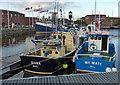TA0928 : Marina at the Humber Dock by Mat Fascione