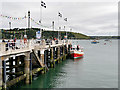 SW8033 : Falmouth, The Prince of Wales Pier by David Dixon