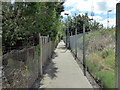 TQ6002 : Alleyway leading to Hampden Park Station by PAUL FARMER