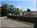 TG3607 : Rebuild on Buckenham Road, Lingwood by Hugh Venables