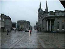 NJ9406 : Looking down Union Street from the Mercat Cross, Aberdeen by Benjamin Shaw