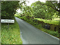 SD6467 : County boundary at Mewith by Stephen Craven