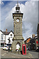 SO2872 : Knighton Clock Tower by Stephen McKay