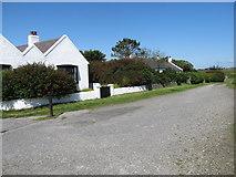 J6551 : The Cloughey coastal path at the village of Kearney by Eric Jones