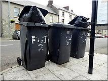 H6357 : Bursting bins, Ballygawley by Kenneth  Allen