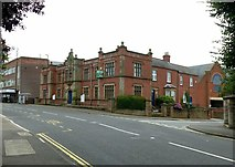 SK4641 : Former Police Station, Wharncliffe Road, Ilkeston by Alan Murray-Rust