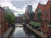 SP0686 : Birmingham Canal Old Line by Chris Whippet