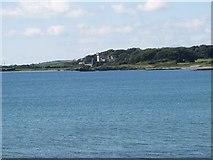 J6350 : Quintin Castle viewed across Knockinelder Bay by Eric Jones