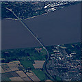 TA0222 : The Humber Bridge from the air by Thomas Nugent