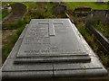 SE2126 : Birstall parish churchyard (3) - Yeilding memorial by Stephen Craven