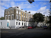 TQ3084 : West end of Thornhill Crescent, Barnsbury by Richard Vince
