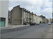 NS5865 : Terraced houses in Elmbank Street by David Smith