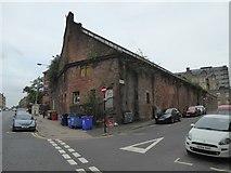 NS5666 : Former school swimming baths, Torness Street by David Smith