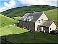 NT8310 : Blindburn Cottages from the rear by Andrew Curtis