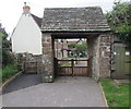 SO5815 : Lychgate, English Bicknor, Gloucestershire by Jaggery