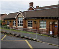 SO9233 : Oldest part of Ashchurch Primary School, Ashchurch by Jaggery