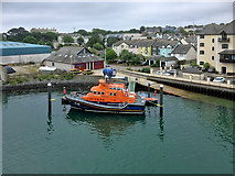 SW8132 : Falmouth Lifeboat and Coastguard Stations by David Dixon