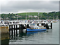 SW8033 : The Prince of Wales Pier, Falmouth by David Dixon