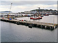 SW8133 : Falmouth Harbour, Queen's Wharf by David Dixon