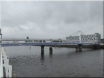 NS5665 : Bell's Bridge over the Clyde by David Smith