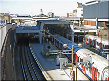 TQ0584 : Uxbridge tube station (3) by Mike Quinn