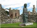 NU1241 : 'Cuthbert of Lindisfarne' by M J Richardson