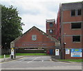 SO8554 : Entrance to St Martin's Gate multistorey car park, Worcester by Jaggery