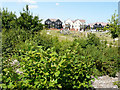 TR0138 : Children's playground, Bridgefield housing estate by John Baker