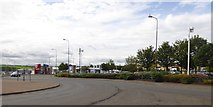 NT3071 : Part of Fort Kinnaird retail park by David Smith