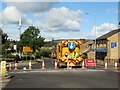 SD7312 : Road closed by Philip Platt